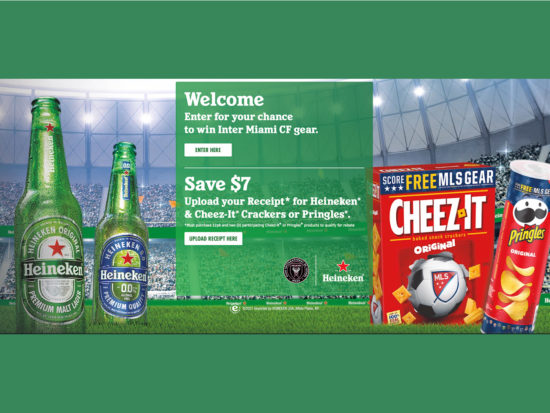 Florida Folks - Purchase Heineken And Cheez-It Or Pringles And Save $7 (Plus Enter To Win Inter Miami CF Gear) on I Heart Publix
