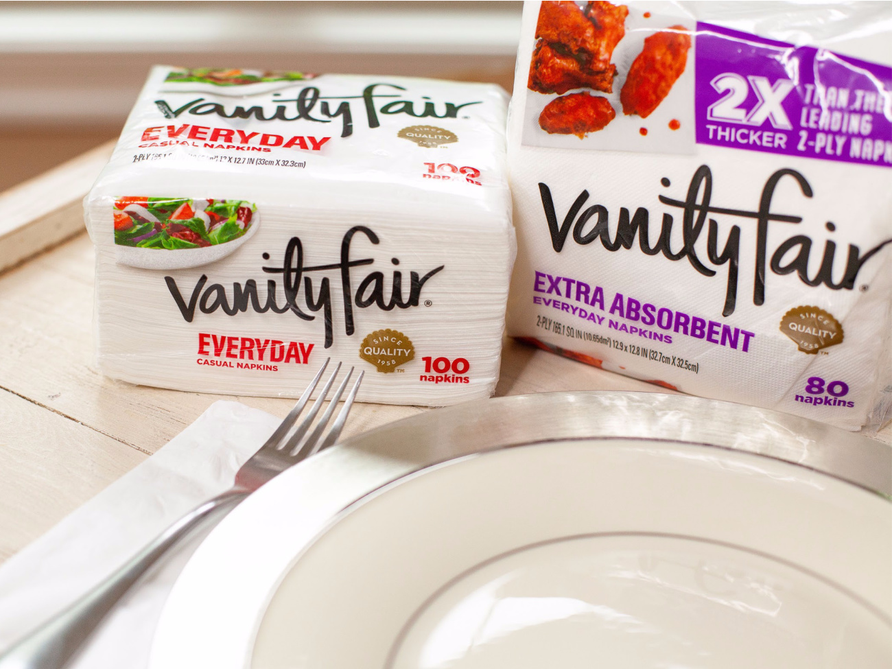 Stock Up On Vanity Fair Napkins - As Low As $1 Per Pack on I Heart Publix