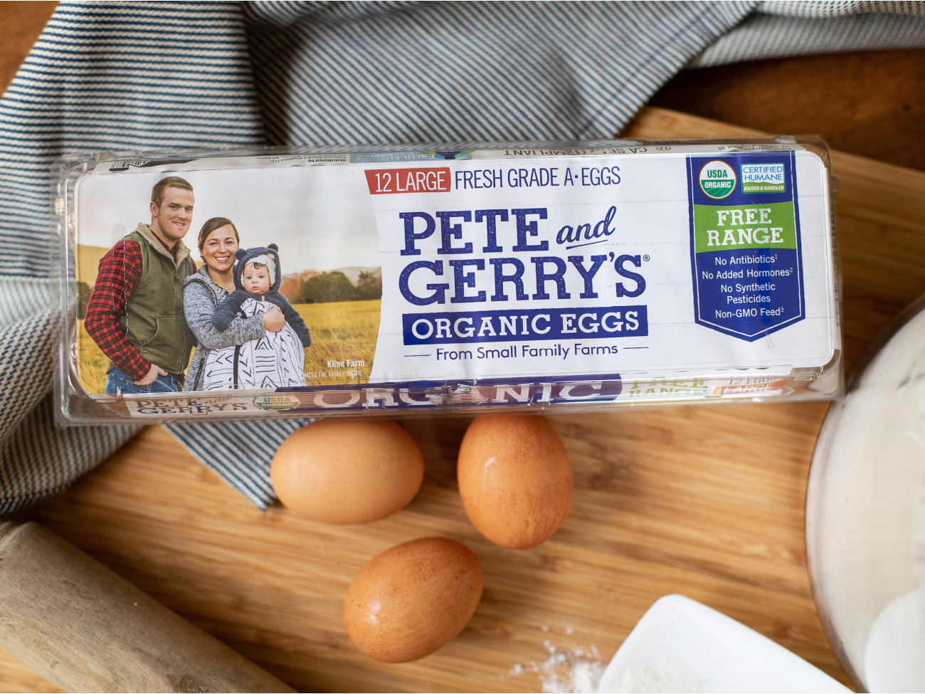 Pete And Gerry's Organic Brown Eggs Just $2.99 At Publix on I Heart Publix