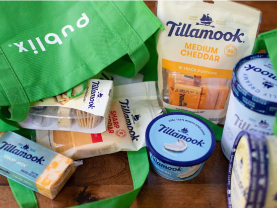 Bring Home Your Favorite Tillamook Products And Earn A $5 Publix Gift Card on I Heart Publix