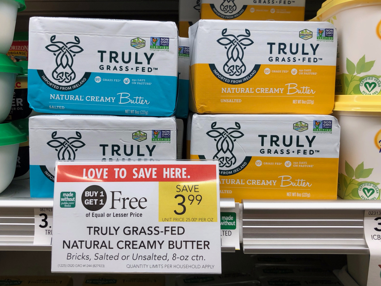Truly Grass-Fed Natural Creamy Butter Just $1 After Coupon At Publix on I Heart Publix