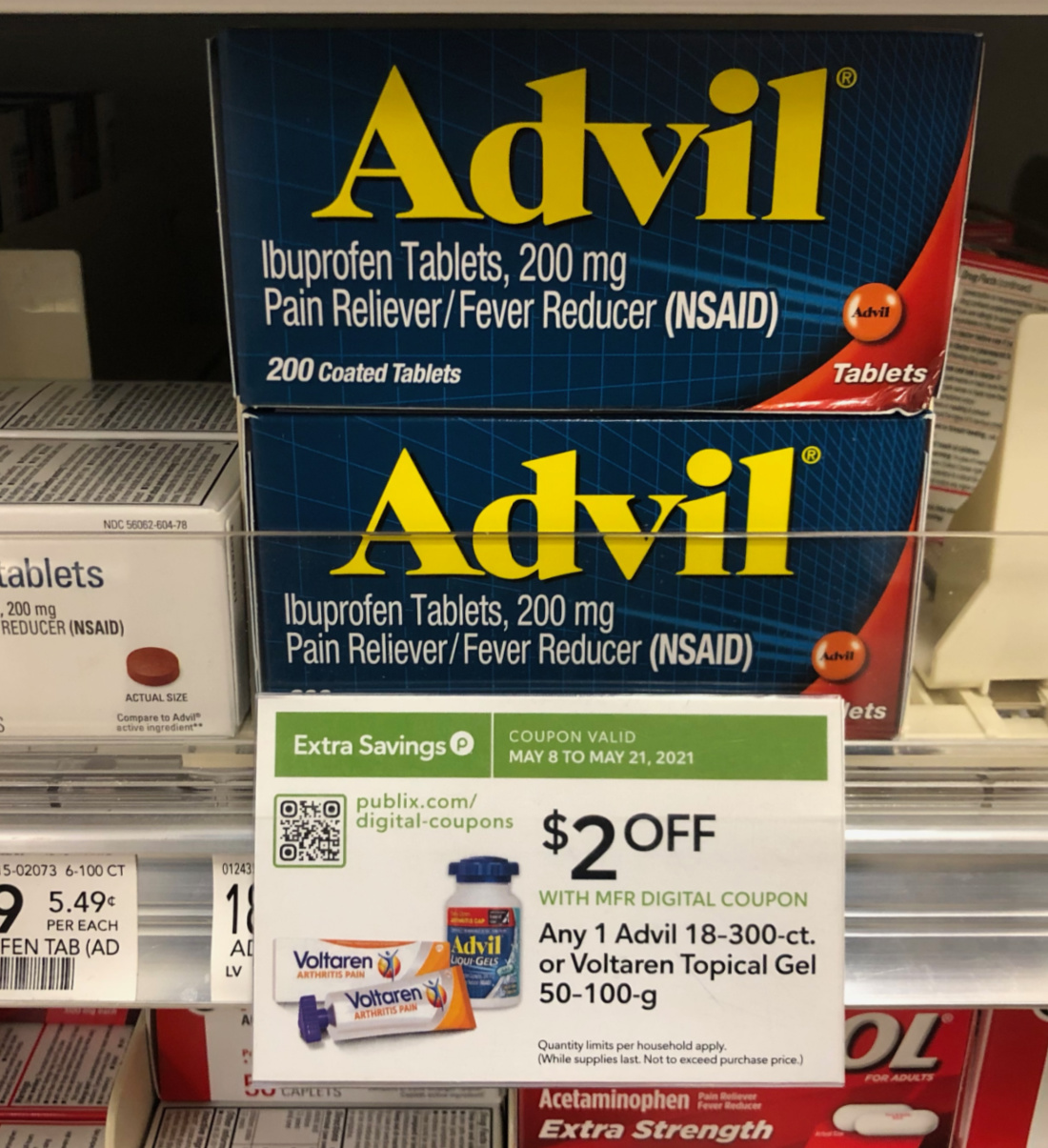 Advil As Low As $11.49 At Publix (Regular Price $18.49!) on I Heart Publix