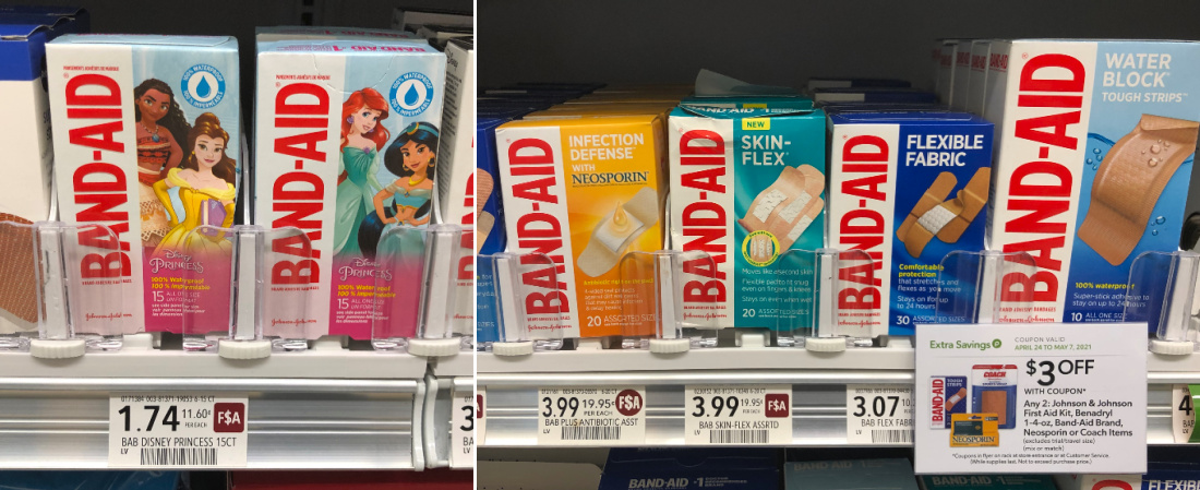 Band-Aid Brand Bandages As Low As FREE At Publix on I Heart Publix