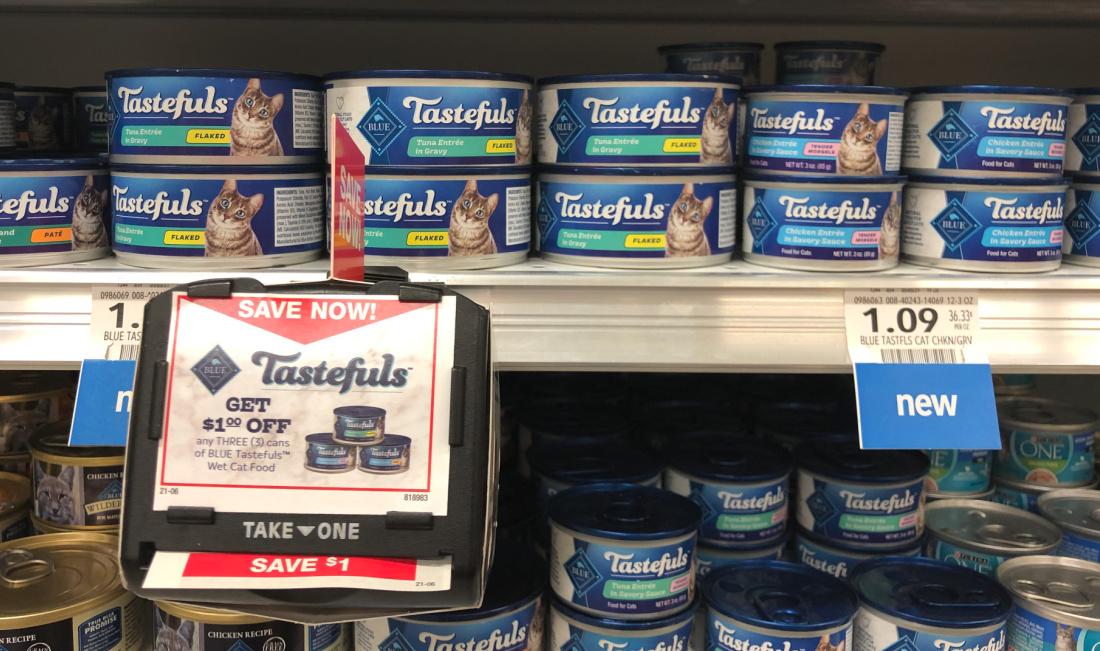 Blue Tastefuls Wet Cat Food on I Heart Publix