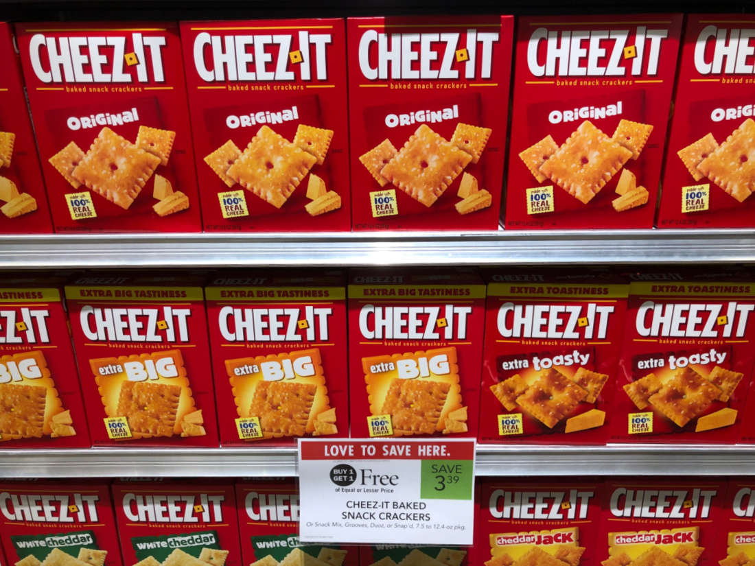 Cheez-It Snack Crackers Just $1.20 Per Box At Publix on I Heart Publix