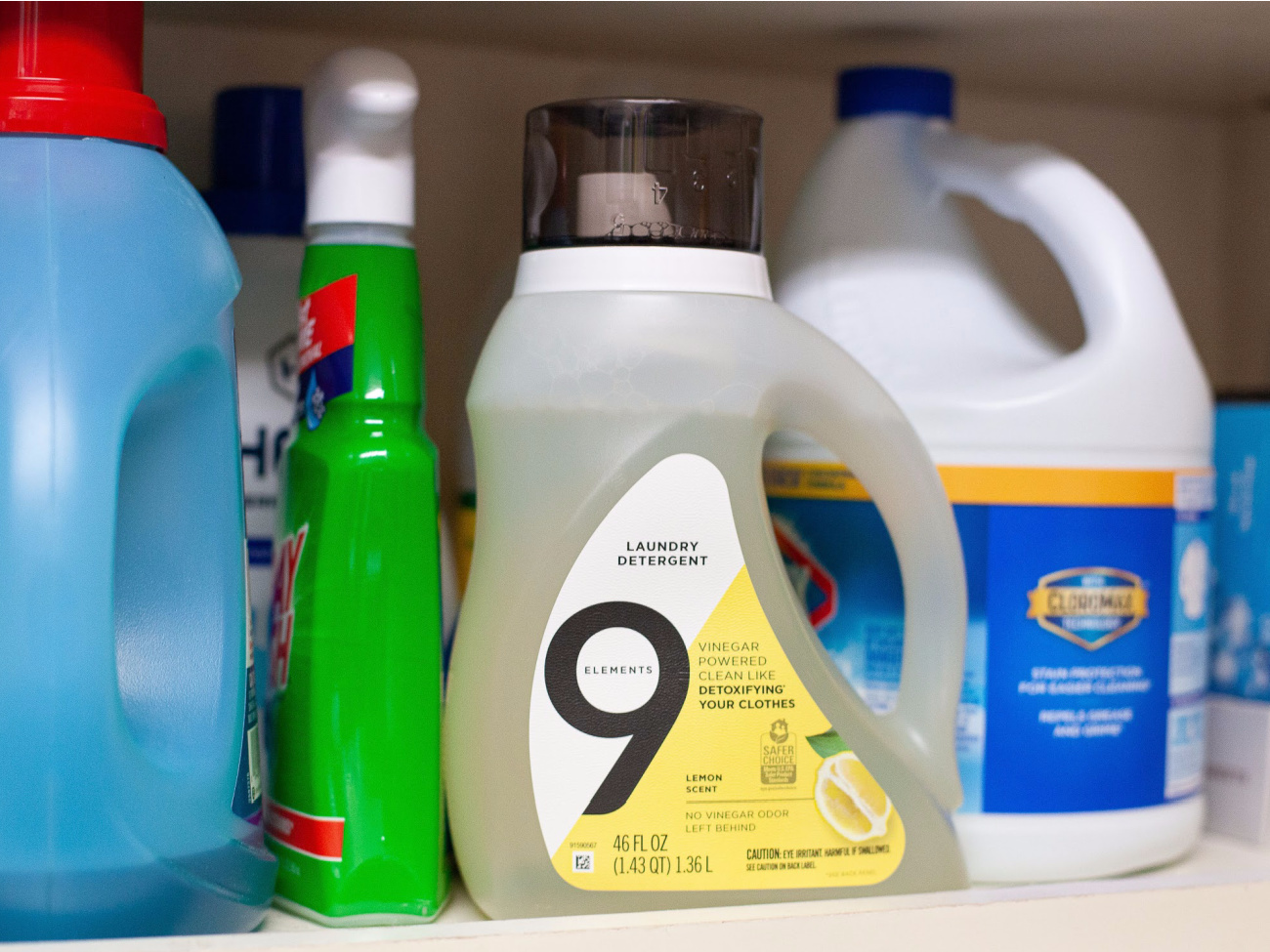 9 Elements Laundry Detergent Just $5.99 on I Heart Publix