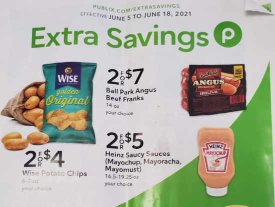 Publix Extra Savings Flyer Valid 6/5 to 6/18 on I Heart Publix