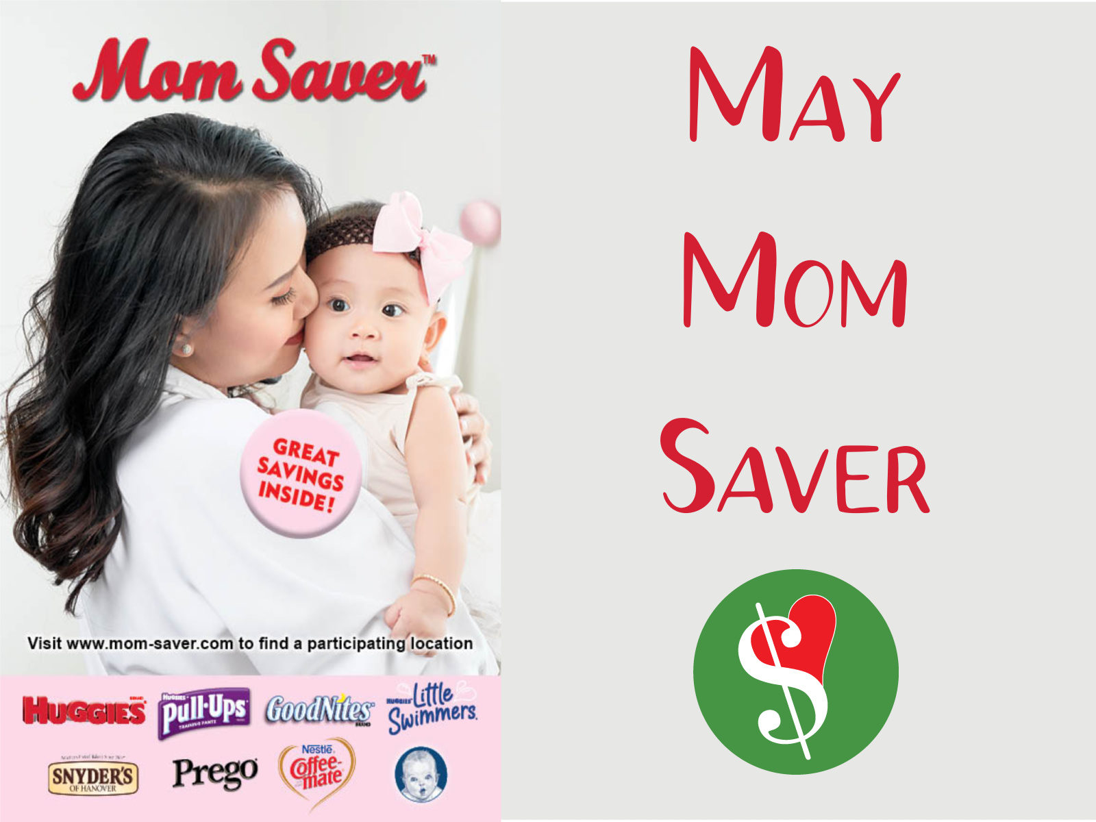 May MOM Saver Booklet + Find Your Local Event Day & Time on I Heart Publix