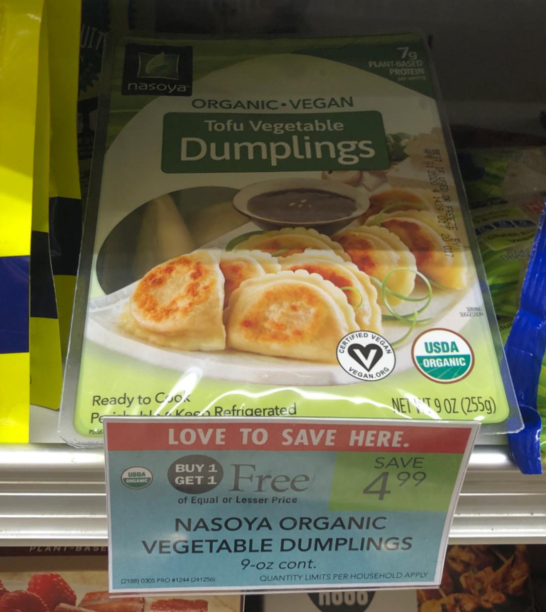 Nasoya Organic Dumplings Just $1.75 At Publix on I Heart Publix 1