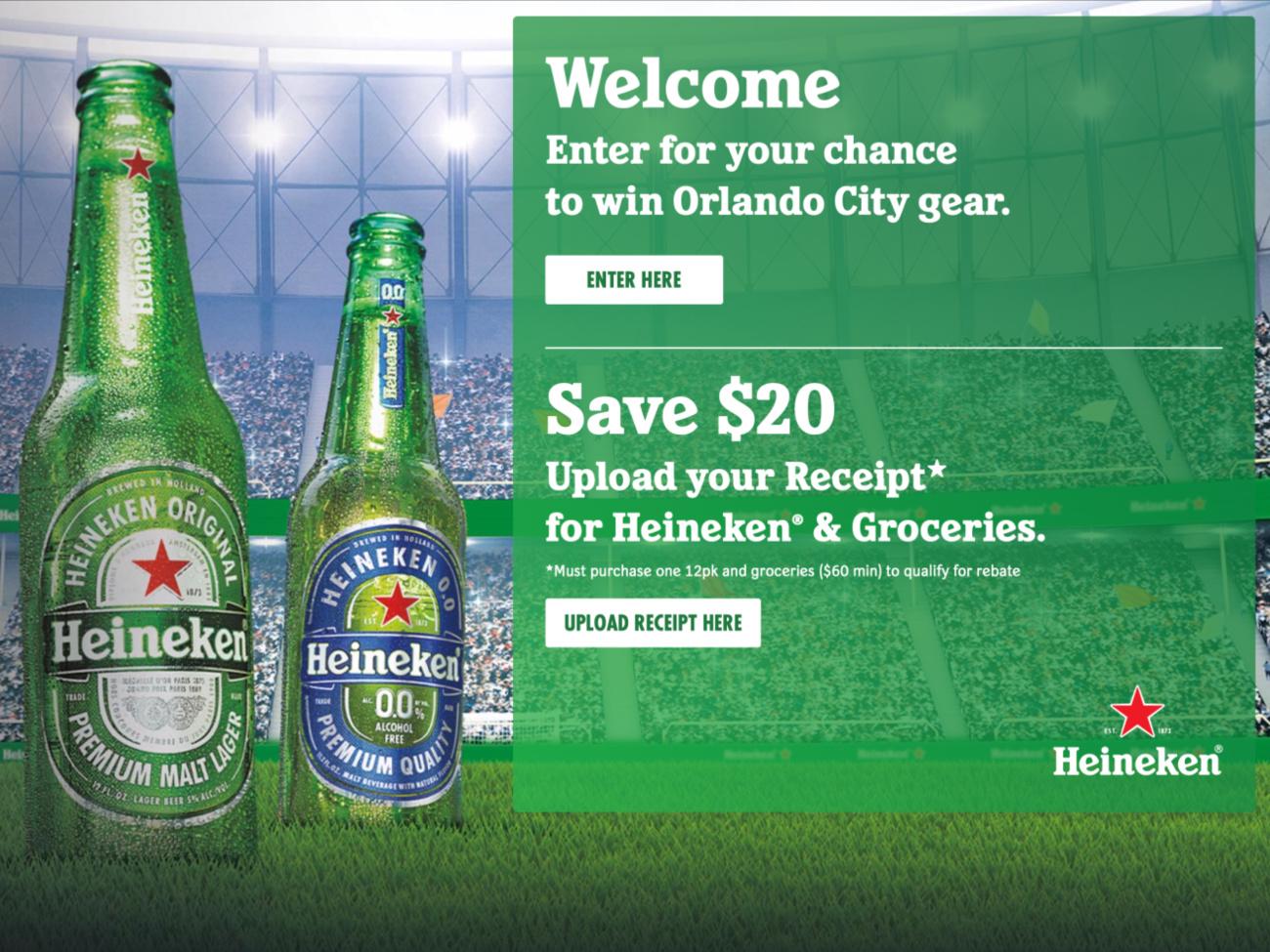 Heineken Orlando Draft on I Heart Publix
