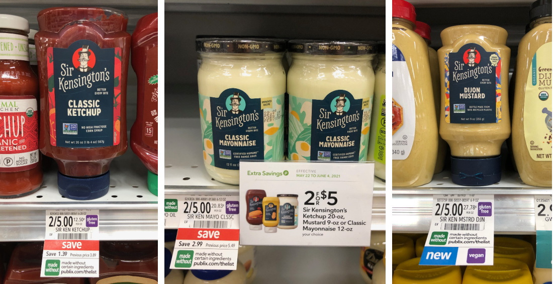 Fantastic Deals On Sir Kensington's Products - Some Items Are Better Than FREE At Publix on I Heart Publix