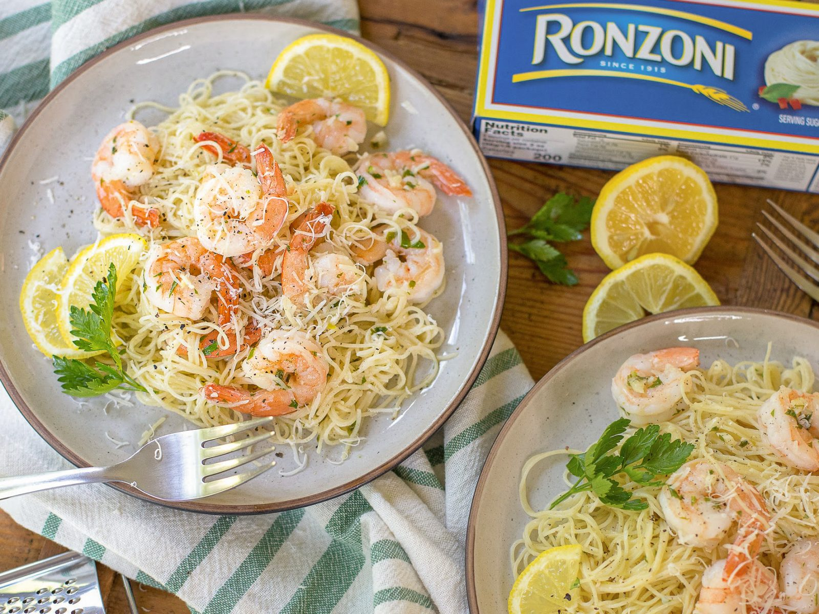 Ronzoni Shrimp Scampi Recipe Draft on I Heart Publix