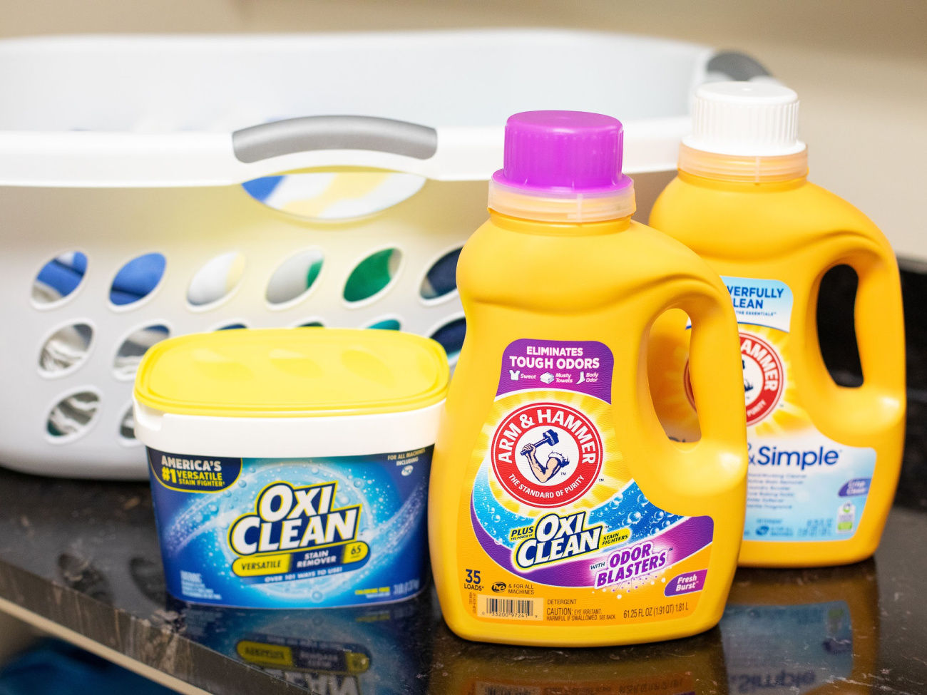 Rally To Win With ARM & HAMMER™ and OxiClean™ And Turn Your Publix Store Run Into A Home Run! on I Heart Publix