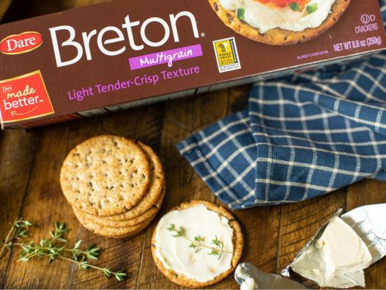 Dare Breton Or Cabaret Crackers Just $1.39 At Publix (Regular Price $3.39) on I Heart Publix