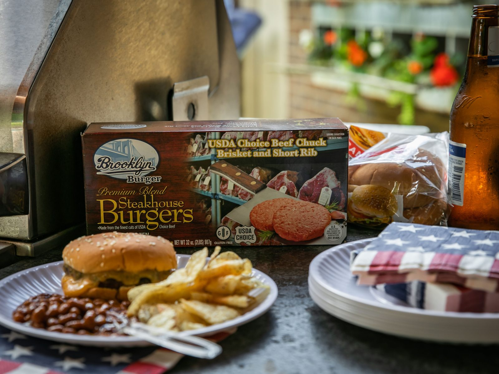 Pick Up Brooklyn Burgers Steakhouse Burgers For Your July 4th Celebration - Save Now At Publix on I Heart Publix