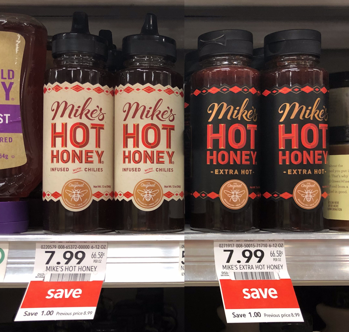 Grab A Bottle Of Mike's Hot Honey - Extra Hot For All Your Favorite Summer Meals on I Heart Publix