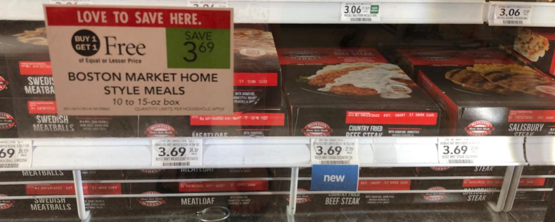 Boston Market Home Style Meals Just 85¢ At Publix on I Heart Publix