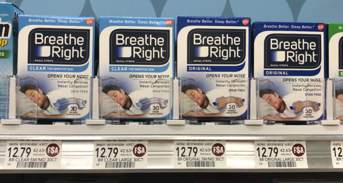 Breathe Right Nasal Strips Just $8.79 At Publix on I Heart Publix
