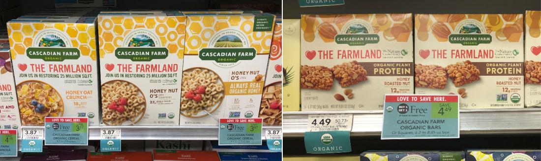 Cascadian Farm Organic Cereal Just $1.44 (Plus Cheap Granola Bars) on I Heart Publix 1