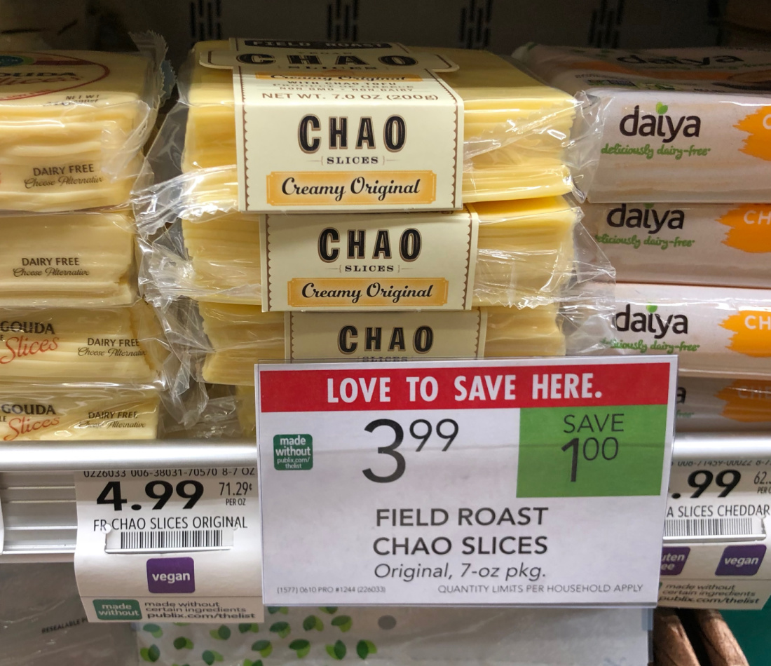 Field Roast Chao Slices Just $1.24 At Publix on I Heart Publix 1