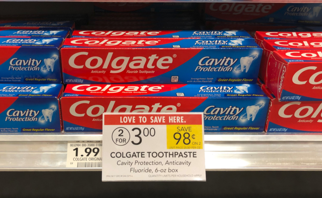 Colgate Toothpaste Only 50¢ At Publix on I Heart Publix 8