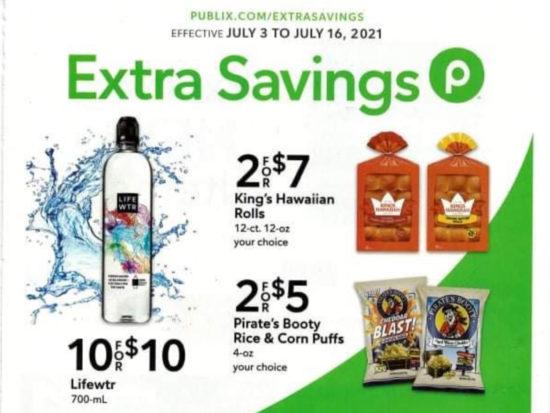 Publix Extra Savings Flyer Valid 7/3 to 7/16 on I Heart Publix 1
