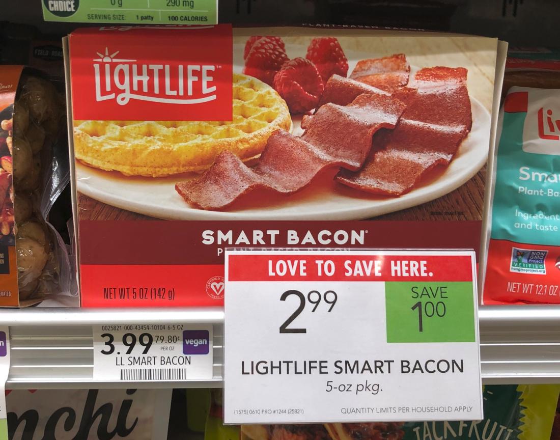 Lightlife Smart Bacon Just $1.99 At Publix on I Heart Publix 1