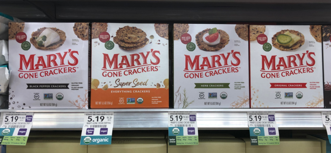 Save On Mary's Gone Crackers At Publix on I Heart Publix 1
