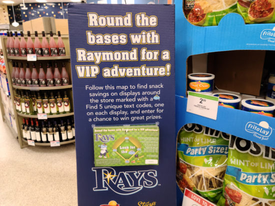Tampa Bay Area Publix Shoppers - Rays Sweepstakes! on I Heart Publix