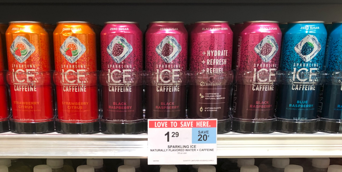 Sparkling Ice + Caffeine Just 79¢ Per Can At Publix on I Heart Publix 3