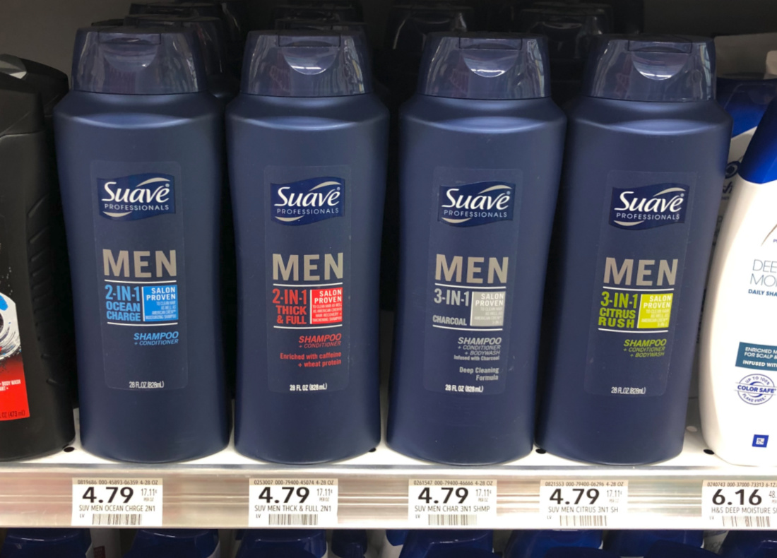 Suave Men Hair Care Just $2.79 At Publix (Regular $4.79) on I Heart Publix