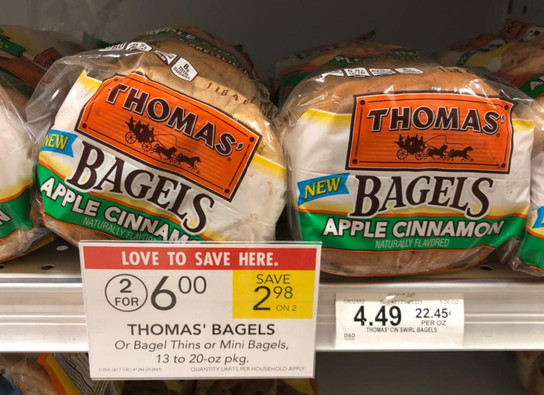 Thomas' Bagels As Low As $1.75 At Publix on I Heart Publix 1