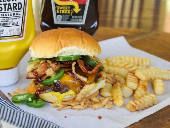 Cowboy Burger on I Heart Publix