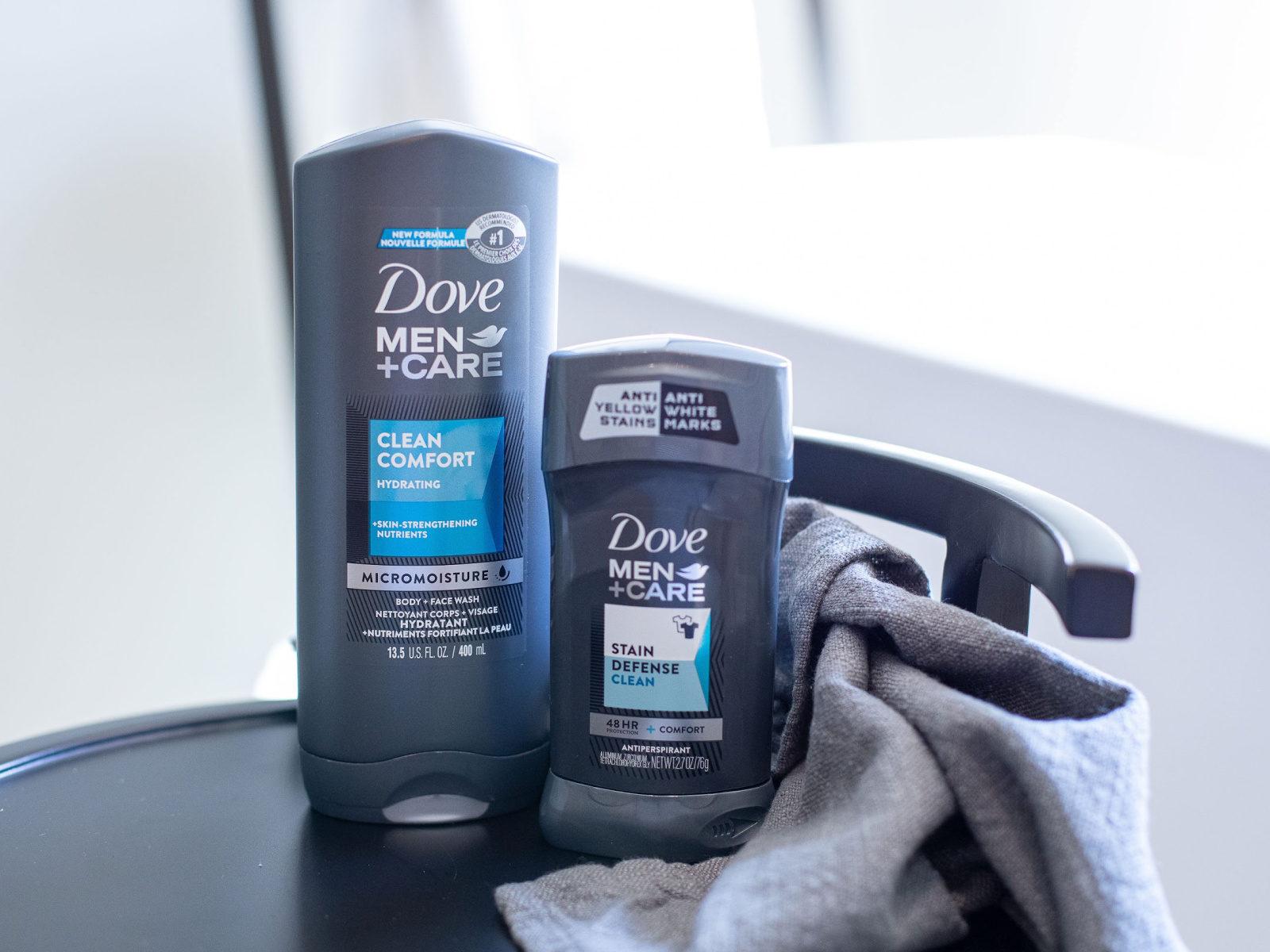 Super Deal On Dove Men+Care Deodorant & Body Wash At Publix - $1.30 Per Item on I Heart Publix
