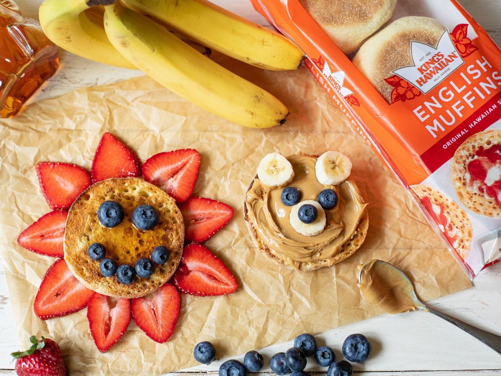 Send The Kids Back To School With The Great Taste Of King's Hawaiian English Muffins - Available Now At Select Locations on I Heart Publix