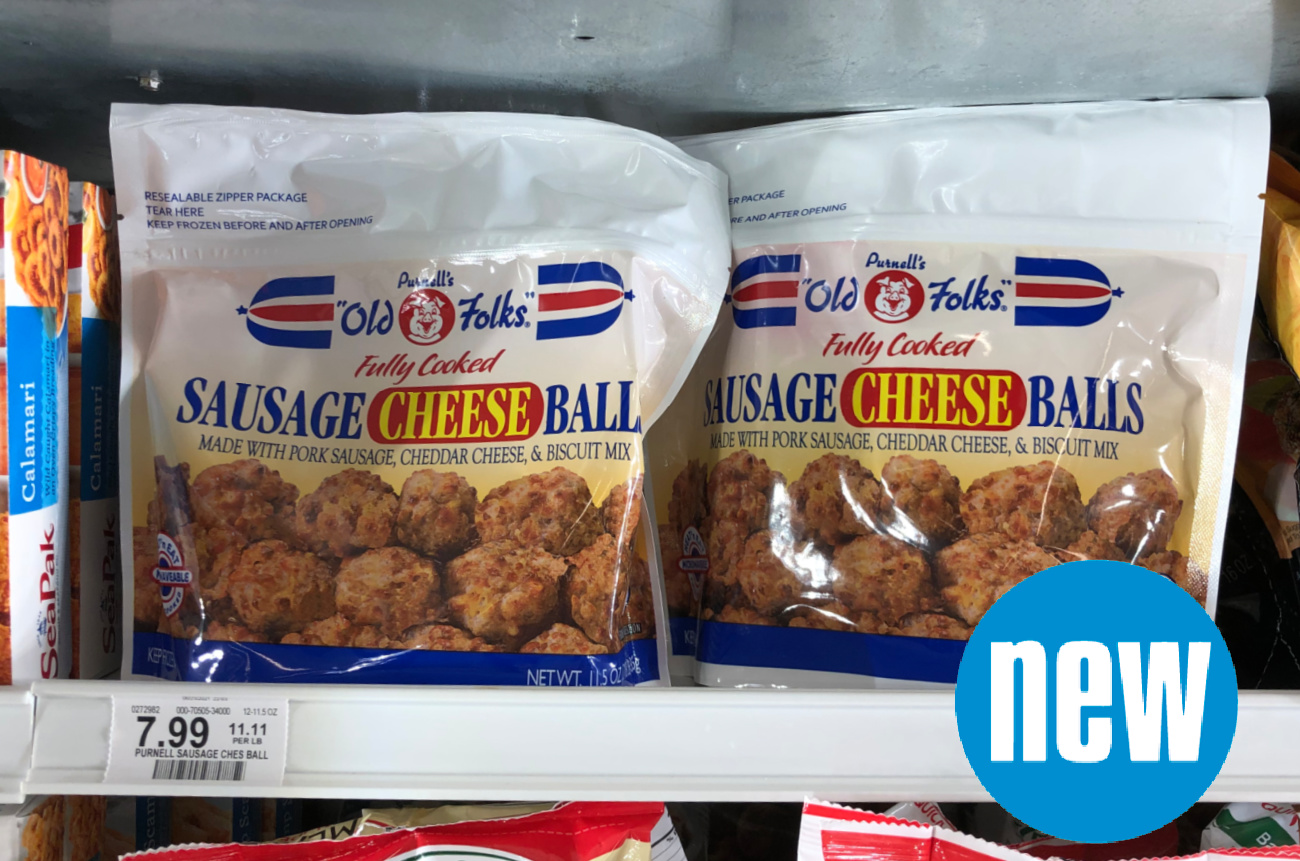 Purnell's Sausage Cheese Balls Are New At Publix - Find Them In The Frozen Aisle on I Heart Publix