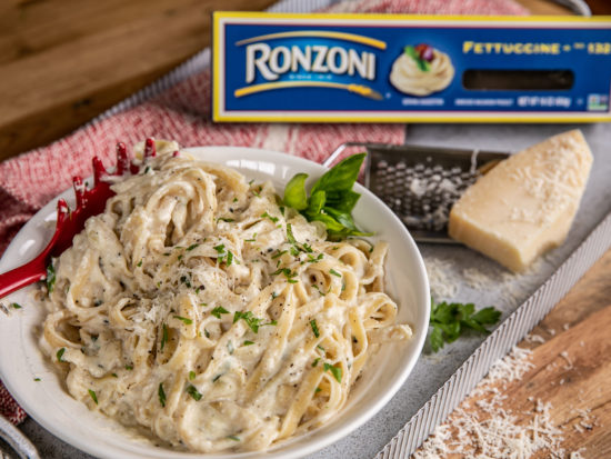 Ronzoni 5-Cheese Fettuccine Recipe Draft on I Heart Publix
