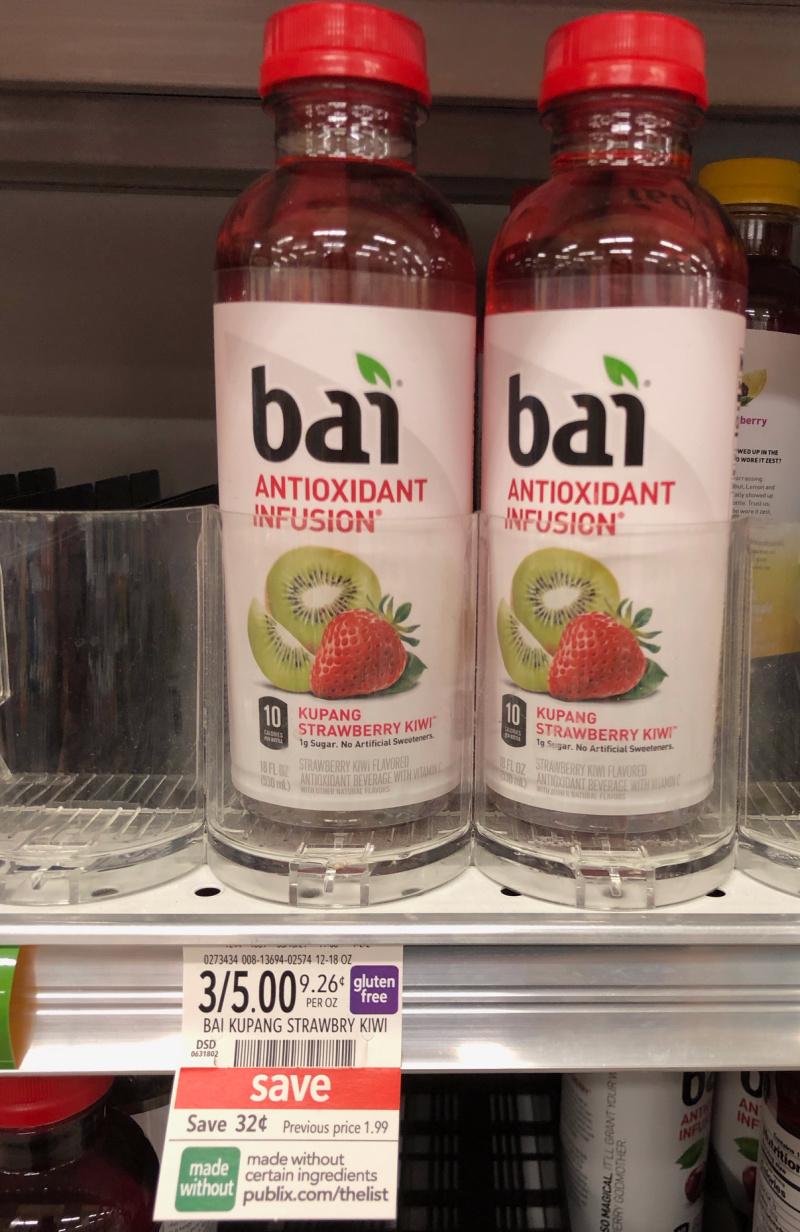 Grab A Bai Strawberry Kiwi For Free At Publix on I Heart Publix 2