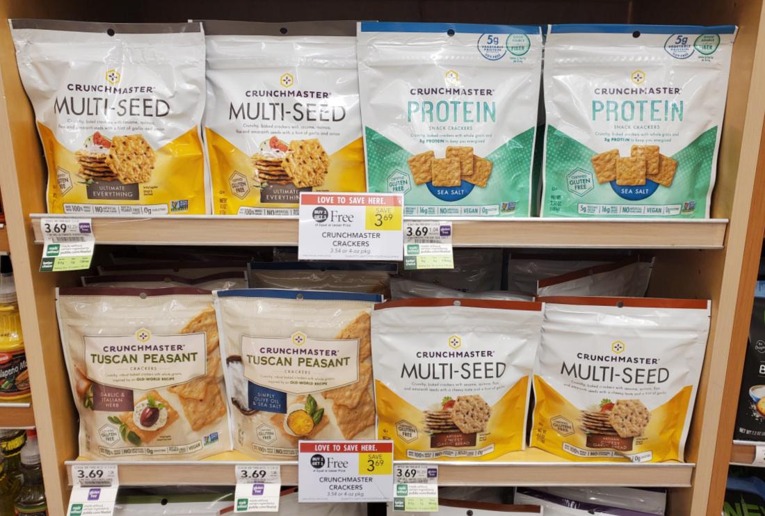 Crunchmaster Crackers Just 85¢ Per Bag At Publix on I Heart Publix