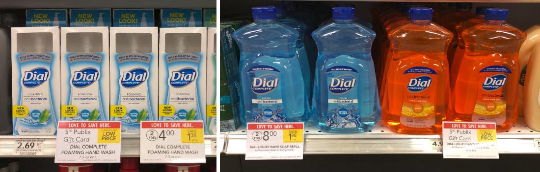 Dial Complete Foaming Hand Wash Just $1.50 At Publix (Plus Cheap Liquid Hand Soap Refill) on I Heart Publix 1