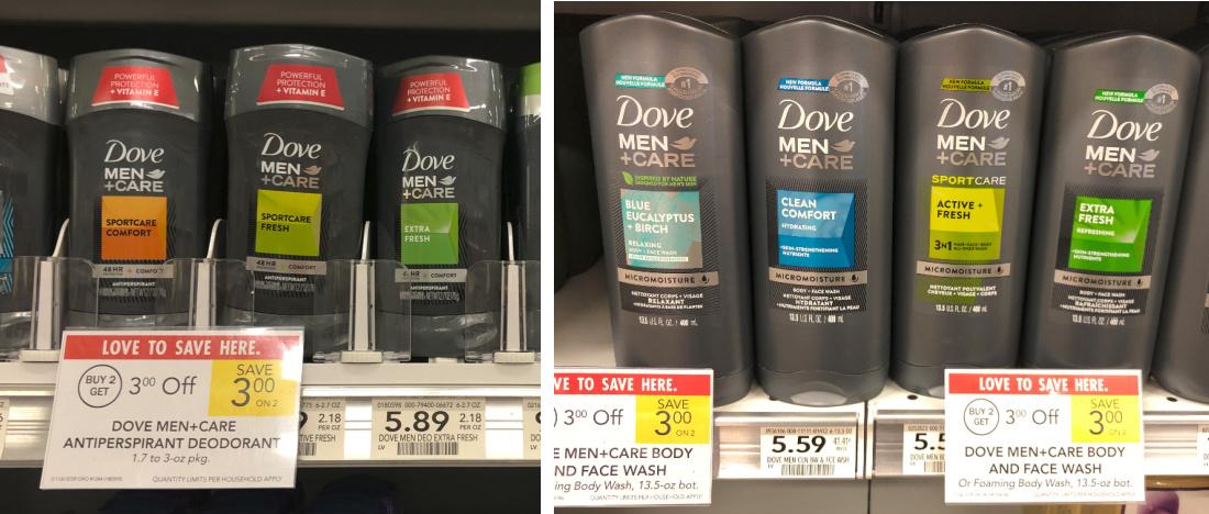 Super Deal On Dove Men+Care Deodorant & Body Wash At Publix - 75¢ Per Item on I Heart Publix