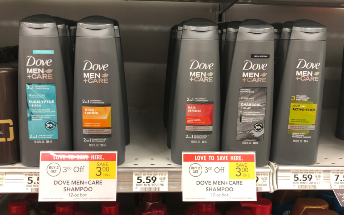 Dove Men+Care Hair Care Products As Low As $1.99 At Publix on I Heart Publix