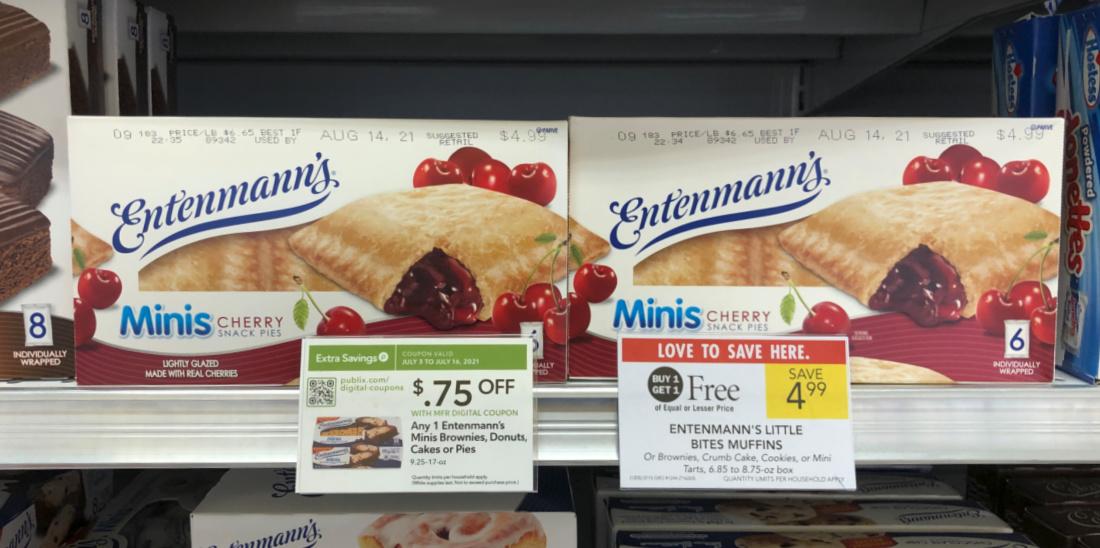 Entenmann's Minis Pies As Low As $1.75 At Publix on I Heart Publix 1