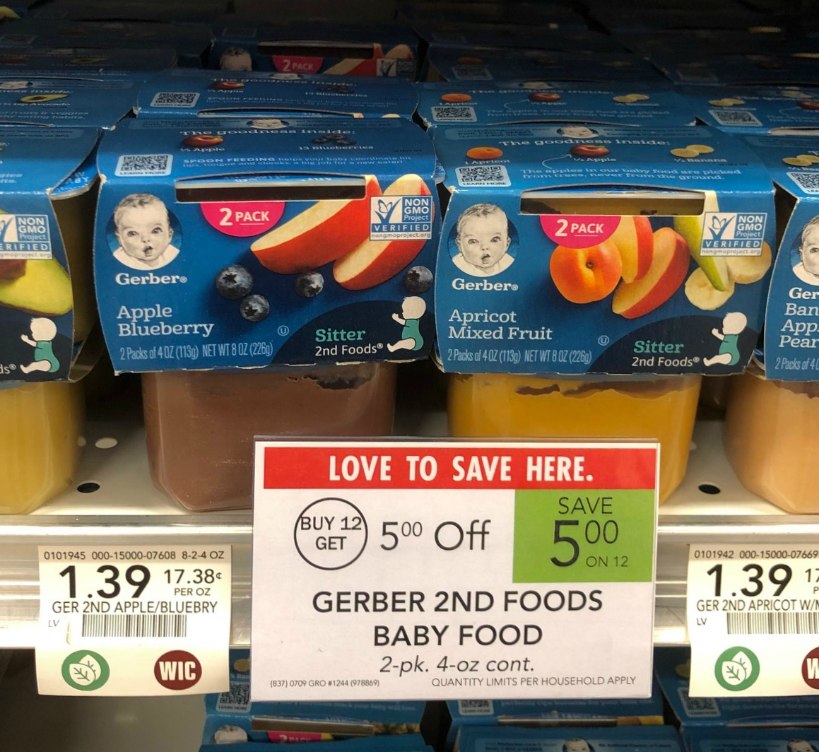 Gerber Baby Food Only 50¢ At Publix on I Heart Publix