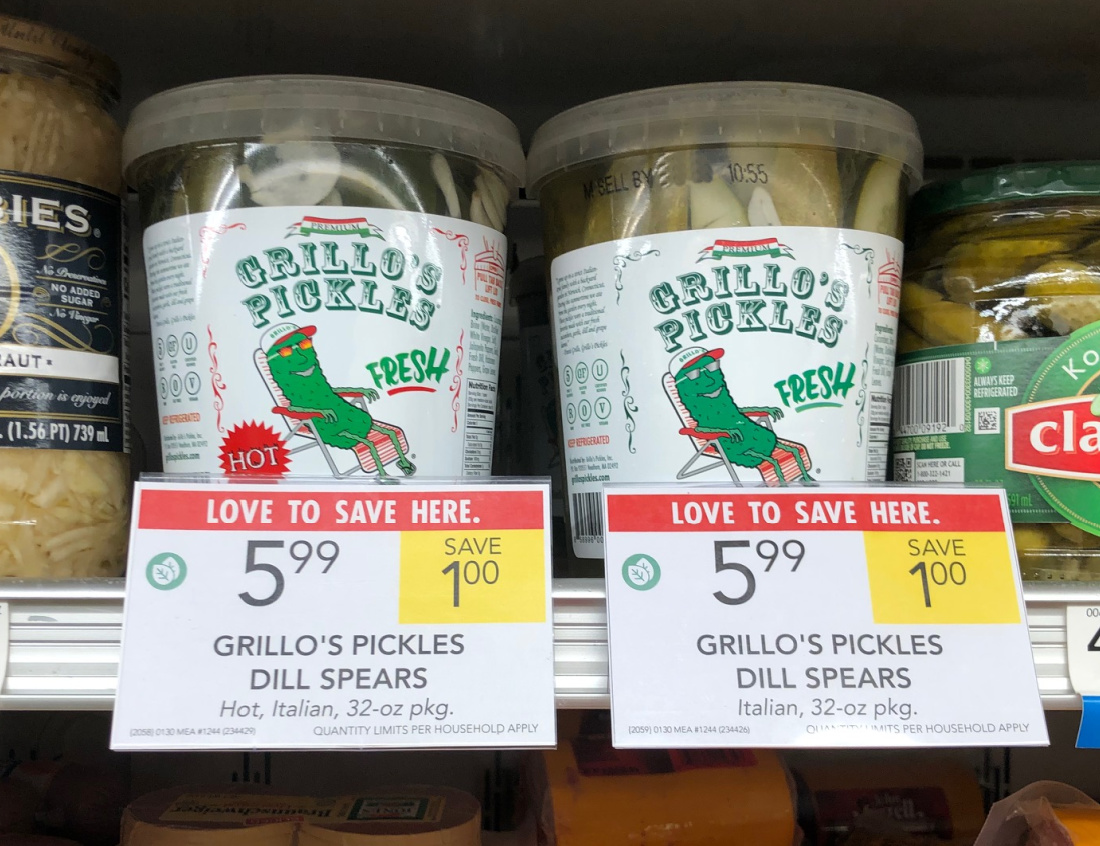Grillo's Pickles Just $3 At Publix (Less Than Half Price!) on I Heart Publix