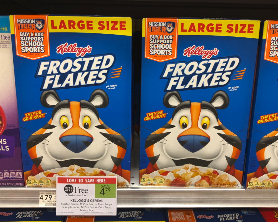 Kellogg's Frosted Flakes As Low As $1.15 Per Box At Publix on I Heart Publix