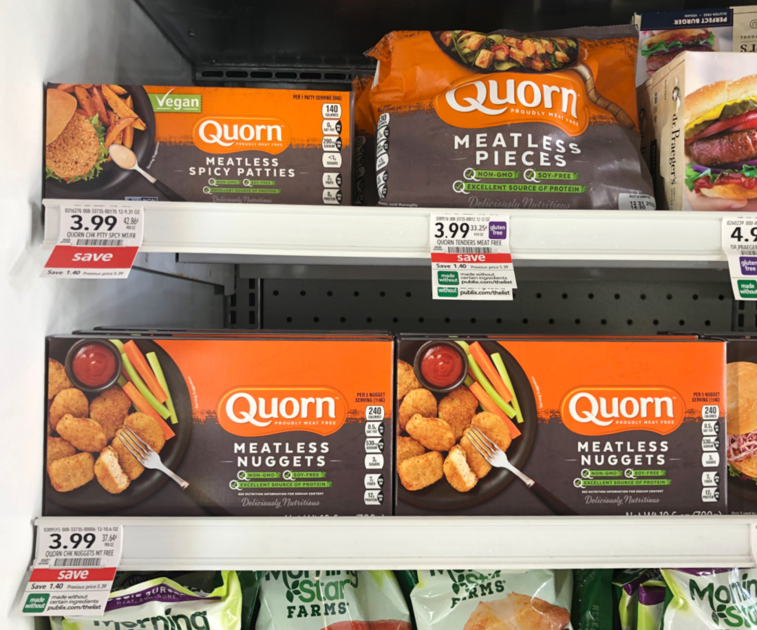 Super Deal On Quorn Meatless Products - Pay As Little As 99¢ At Publix on I Heart Publix 1