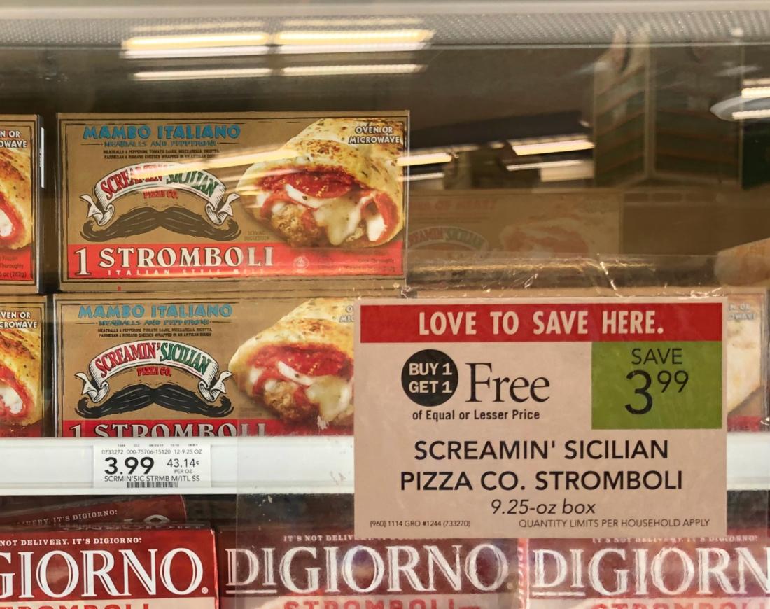 Screamin' Sicilian Pizza Co Stromboli Just $1 (Pizza Just $3.65) on I Heart Publix