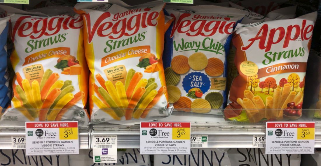 Sensible Portions Veggie Straws And Chips Are BOGO This Week At Publix on I Heart Publix