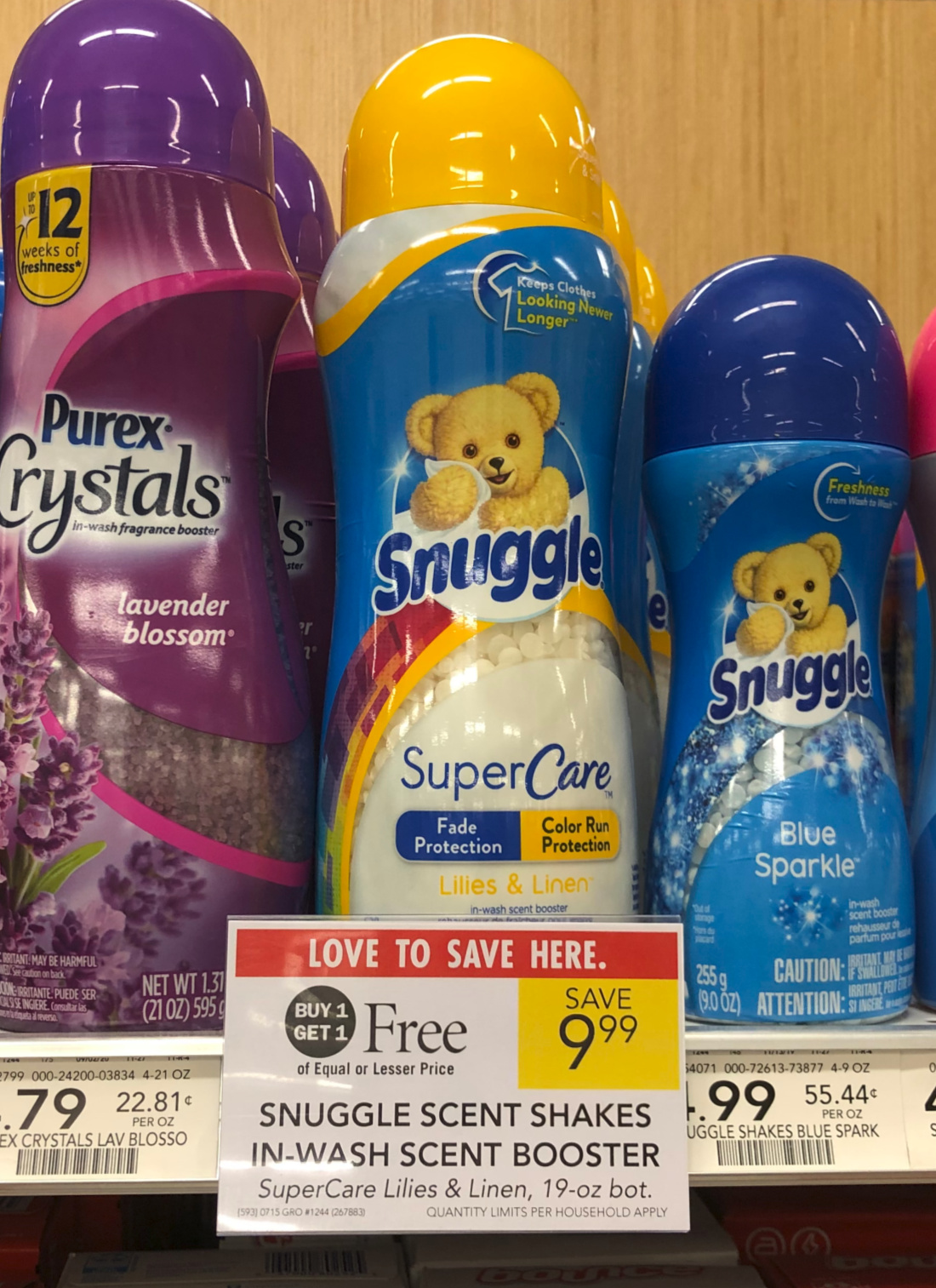Snuggles Scent Shakes In-Wash Scent Booster As Low As $3 At Publix on I Heart Publix